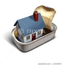 Confined Home - Stock Illustration [21458904] - PIXTA